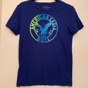 Navy Blue American Eagle Shirt